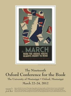 Love this poster: The 2012 poster features a 1936 Works Progress Administration poster created for a monthly reading program at Illinois libraries. Source: Library of Congress