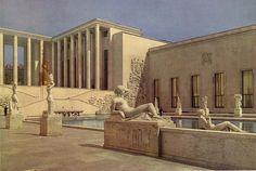 Art Deco Palais de Tokyo in Paris built for the International Exhibition of 1937