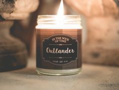 """Outlander Candle by In the Wick of Time. Smells like ocean and heather! (MORE ON: """"Outlander Costumes, Music, Videos, BTS, Merchandise"""" board.)"""