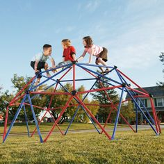 Toddler Dome Climber Kids Playground Large Outdoor Structure Center Gym Play Set #ToddlerDomeClimber
