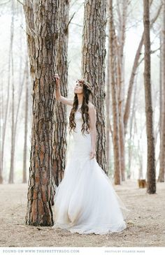 Whimsical wedding dress | Photo: @Yolandé Marx, Dress: Rosenwerth