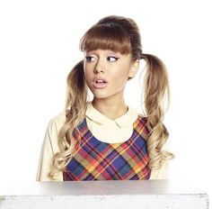 Outtake of Ariana Grande's photoshoot for Hairspray Live