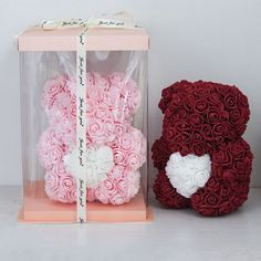 NOVA | Gifts For Her - Immortal Rose Teddy Bear Gift Box – Novarian Creations Roses For Her, Teddy Bear Gifts, Teddy Bears, Gifts For Him, Great Gifts, Forever Rose, Love Rose, Love Symbols, Creative Gifts