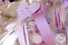 vasetto porta confetti con cuore (Loveday)