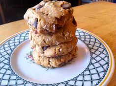 Rice flour chocolate chip cookies