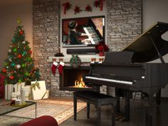 Perfect for holiday parties: Yamaha's exclusive streaming service DisklavierTV™ brings LIVE and on demand concerts into your home in perfect synchronization, so that you can watch the keys of your Disklavier come to life in real time with the artist's performance!
