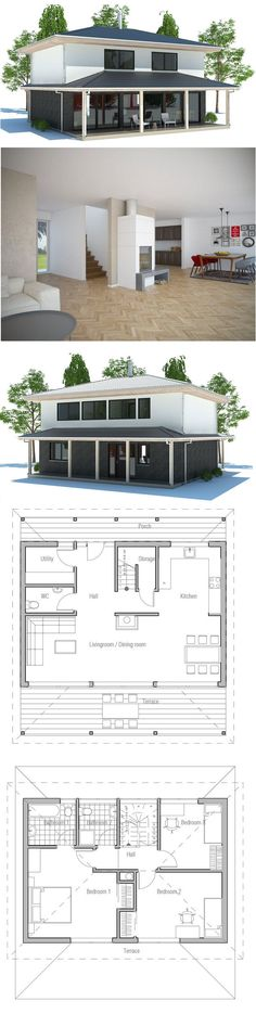 NO LM (nolm) on Pinterest - Plan Maison Bois Gratuit
