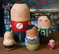 The Big Bang Theory Matrioshka Dolls
