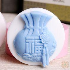수제-1구 복주머니 95g MHO-107 #handmade #soap #mold #newyear #lucky