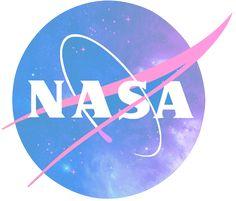 NASA pastel logo