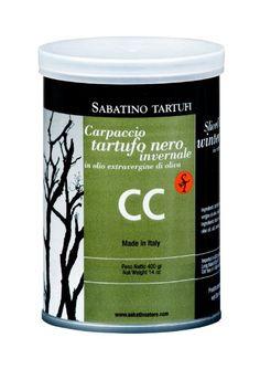 Tartufata -Black Truffle Sauce in Tin @ https://houseofcaviarandfinefoods.com/truffles/tartufata-truffles-w-mushrooms-and-olives-detail  #truffle #italiantruffle #frenchtruffle #blacktruffle #whitetruffle #albatruffle