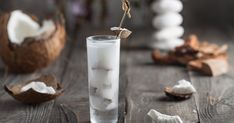 Learn how to make DIY coconut rum instead of buying Malibu for all your summer tiki drinks. Also i would probably just use pre-shredded coconut. Coconut Rum Drinks, Malibu Coconut, Malibu Rum, Rum Recipes, Drinks Alcohol Recipes, Cocktails, Cocktail Recipes, Cocktail Drinks, Hearts