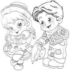 """Képtalálat a következőre: """"desenhos para colorir festa junina"""""""