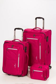 Hardware Ice Colours Set 3tlg. Trolley S + M + Travel Kit Raspberry