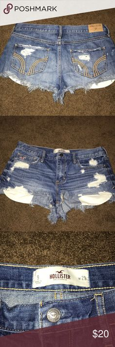 Hollister Shorts Cute, booty shorts. In great condition. Hollister Shorts Jean Shorts
