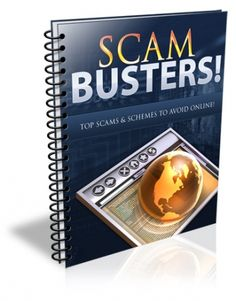 Scam Busters Report PLR - Ebook | Masters Resale Rights