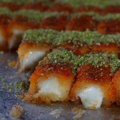Knafeh rolls. Droooool, I want these so bad!!