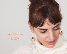 #handmade #jewelry #earrings #ethnic  New shop on Etsy by  www.lijewels.com