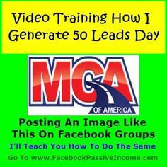 Facebook MCA Motor Club America Leads Training Review | How Generate MCA...
