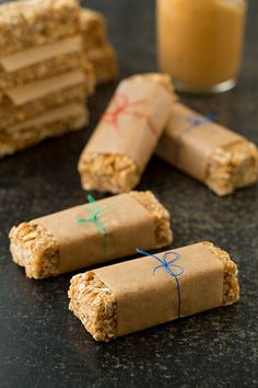 Easiest Microwave Chewy Peanut Butter Granola Bars - Cooking Classy