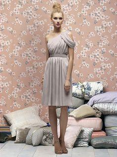 Maxi Length Version for Bridesmaid &  Tea Length Version for Matron of Honor   Lela Rose Bridesmaids Style LR159 //