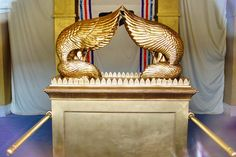 tabernacle holy place | Ark of Covenant in Most Holy Place. Model. Photo ©Leon Mauldin.