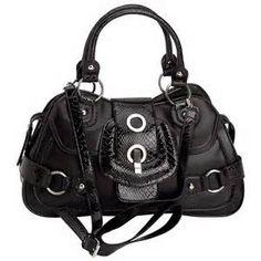 3409f203026 Gigi Chantal Medium Black Jacquard Purse