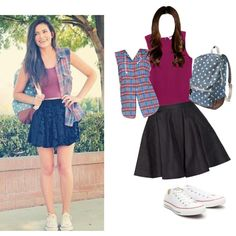 """Bethany mota outfit"" by styliststar123 on Polyvore"