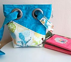 Charm Purse Bag Crossbody With Customizable by SewTwistedSisters