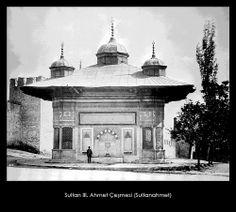 İstanbul-Yıldız Albümleri, Sultan III. Ahmet Çeşmesi (Sultanahmet)