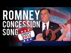 After calling President Obama to congratulate him on his victory in the 2012 election, Mitt Romney comforts his supporters in song.   Schmoyoho (shmo YO ho) is the vision of a magical universe where song fills every moment. Behind this vision are The Gregory Brothers. 2ND CHANNEL: http://youtube.com/thegregorybrothers TWITTER: http://twitter...