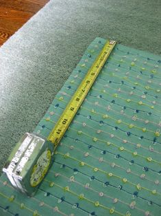 No sew DIY crib skirt. Doing this!