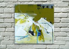 Petite Abstract 2Original Acrylic mixed by AbstractionbyStacey, $75.00
