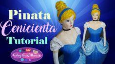 paso a paso piñata Cenicienta! Muppet Babies, Ideas Para Fiestas, Home Crafts, Youtube, Cinderella, Disney Princess, Disney Characters, Party, Gravity Falls