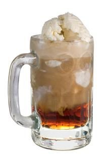 Root Beer Float with Bailey's Irish Cream