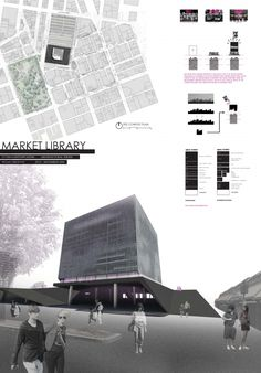 Architectural Thesis: Market Library - Weian Lim Portfolio - The Loop