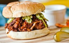<p>These barbecue pulled jackfruit sandwiches are a dream come true for anyone who loves meaty, savory sandwiches. </p>