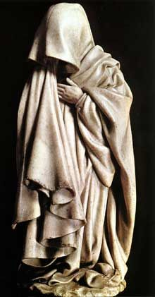 Claus Sluter (1350-1406). Tombeau de Philippe le Hardi.