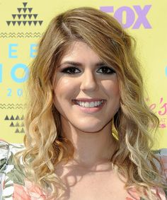View yourself with this Molly Tarlov Long Curly Blonde Hairstyle Long Curly Hair, Curly Blonde, Casual Hairstyles, Curly Hairstyles, Medium Blonde, Blow Dry, Medium Hair Styles, Hair Color, Long Curly Hairstyles
