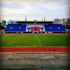 View of Olympic Stadium in #phnompenh . . . #southeastasia #wanderlust #olympicstadium #olympics #cluelessnomad #digitalnomad #globetrotter #cambodia