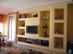 mueble salón pladur
