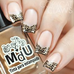 Copycat Claws: UberChic Beauty 6-02 Stamping Plate Review