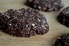Gluten Free, Dairy Free, no bake Chocolate Macaroons. Uses Coconut Oil, Honey to Sweeten and Pure Cocoa Powder. Full Recipe