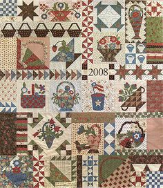 Piece & Plenty BOM - see Log Cabin Quilter's blog for great color selection.