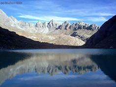 Sierra Nevada de Mérida. Laguna El Suero y Valle Agustín Codazzi. Venezuela