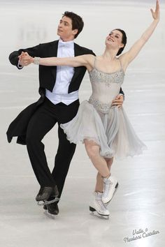 Virtue Moir - elegant and classic. They put the romance in Ice Dance. Virtue And Moir, Tessa Virtue Scott Moir, Ice Skating Images, Types Of Ballroom Dances, Ice Dance Dresses, Tessa And Scott, Dancing Figures, Human Poses Reference, Country Dance