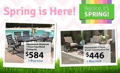 Walmart - iFramed Store Locator Spring Is Here, Dining Set, Buy Now, Wicker, Retail, Walmart, Store, Outdoor Decor, Dinner Ware