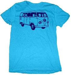 Volkswagon Bus VW TShirt or Onesie by CustomKingdom on Etsy, $19.95