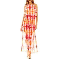 21bdd7b50b88 Bisou Bisou® Ruffle-Trim Maxi Dress - jcpenney  50.00