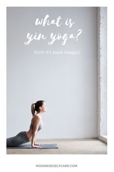 """Are you wondering """"what is yin yoga?"""" (Hint: it's PURE magic✨). Read this piece for a total break down all of the benefits of yin yoga! Yin Yoga Benefits, Yin Poses, Yin Yoga Sequence, Home Yoga Practice, Yoga Bolster, Yoga Pictures, Hip Openers, Yoga Block, Beach Yoga"""